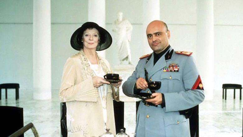 Tea with Mussolini movie scenes