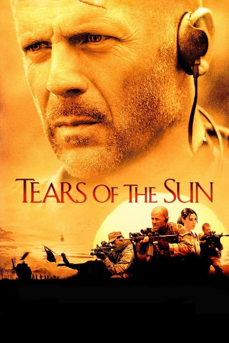 Tears of the Sun movie poster