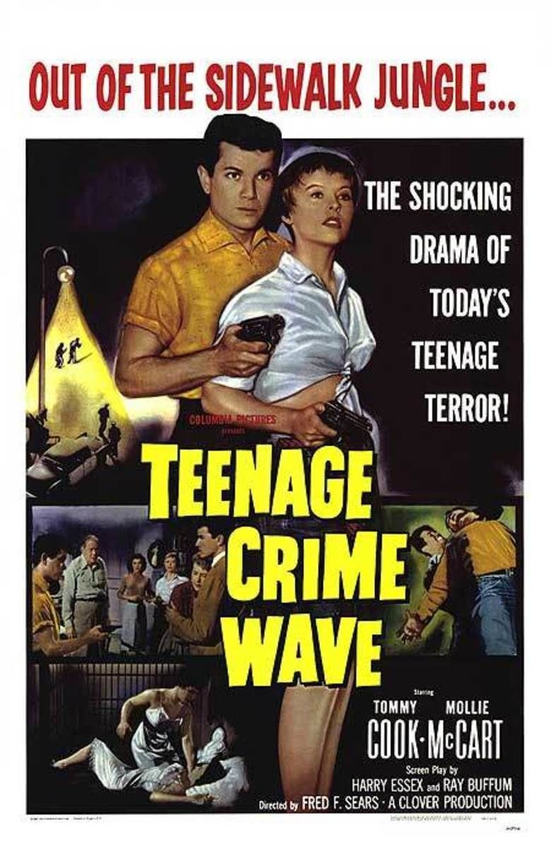 Teen Age Crime Wave movie poster