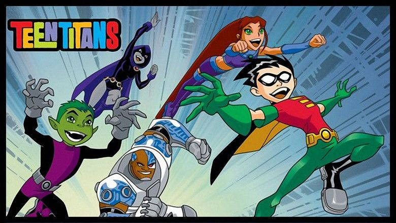 Teen titans trouble in tokyo movie