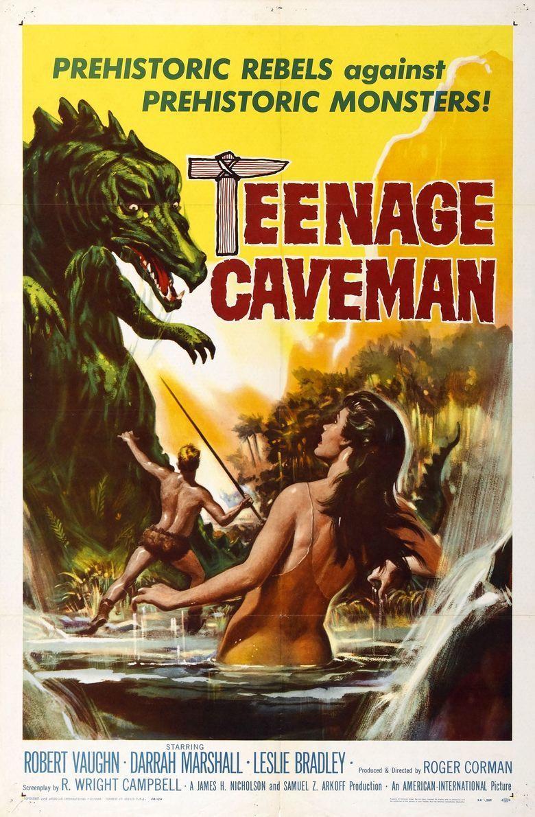 Teenage Cave Man movie poster