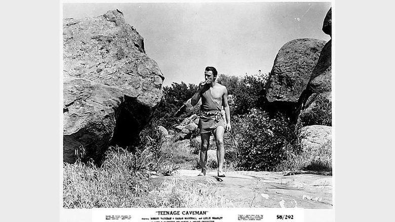 Teenage Cave Man movie scenes