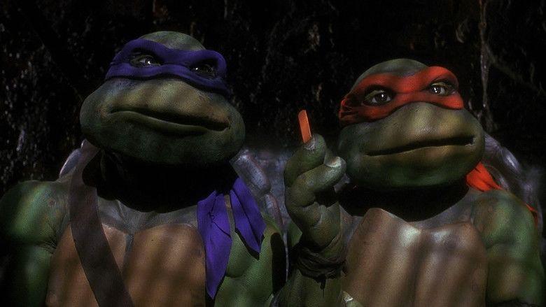 Teenage Mutant Ninja Turtles (1990 film) movie scenes