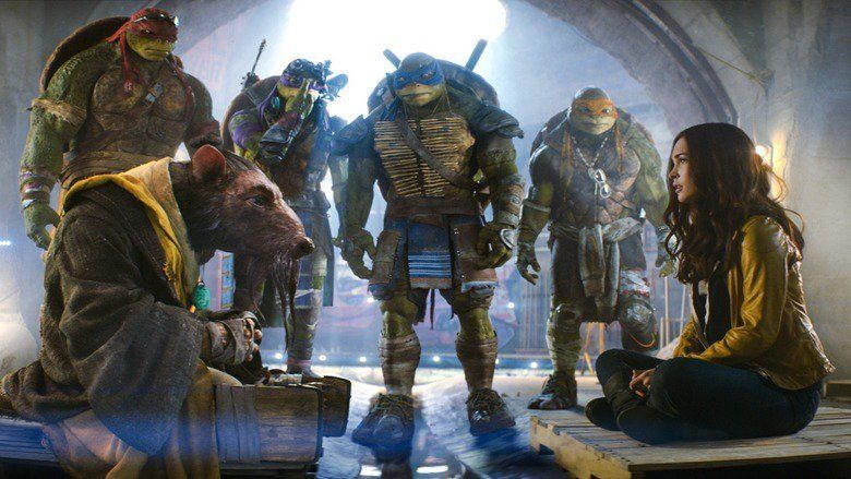 Teenage Mutant Ninja Turtles (2014 film) movie scenes