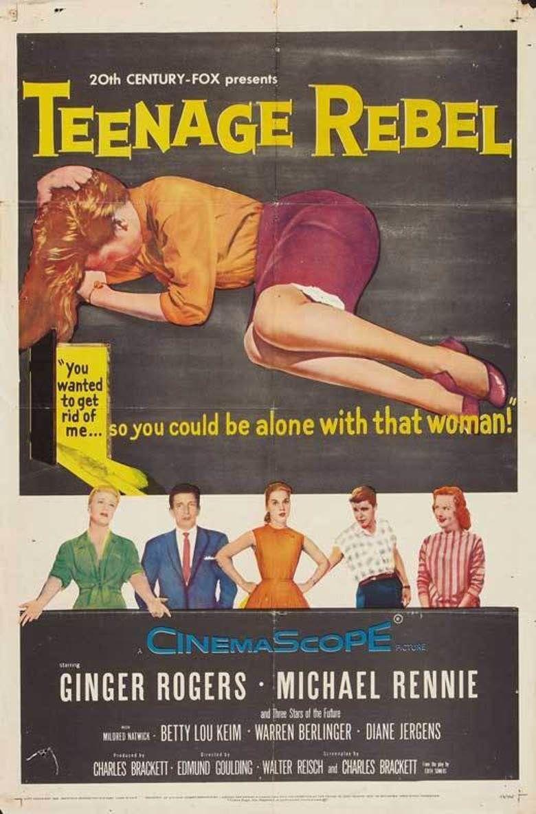 Teenage Rebel movie poster