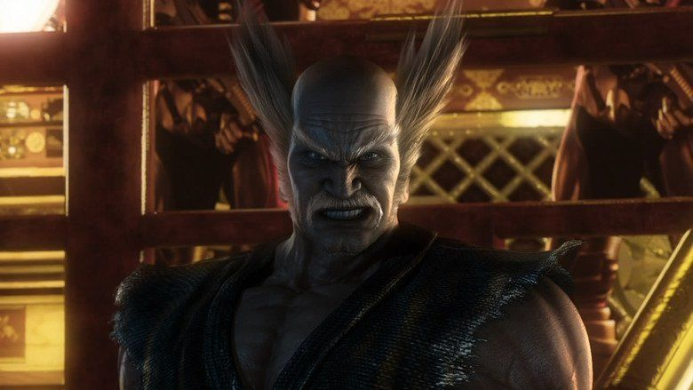 Tekken: Blood Vengeance movie scenes