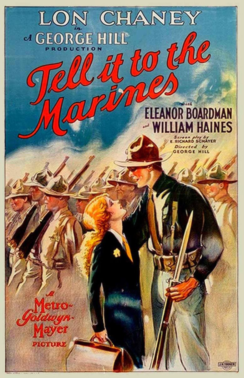 Tell It to the Marines (film) movie poster