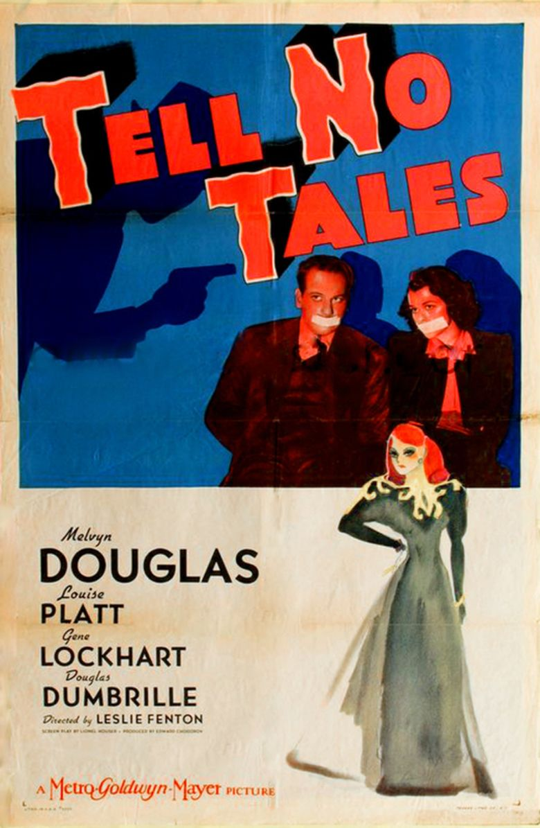 Tell No Tales (film) movie poster