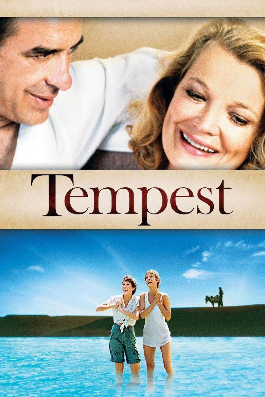 Tempest (1982 film) movie poster