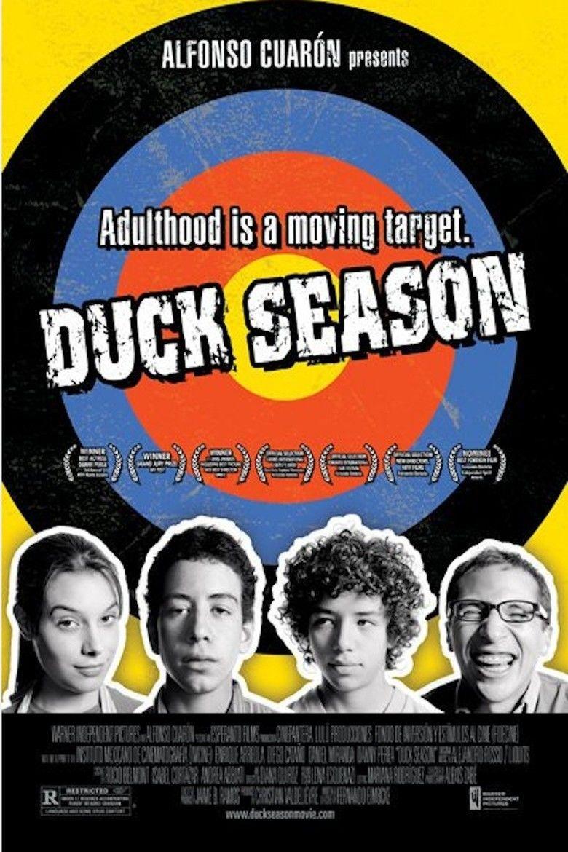 Temporada de patos movie poster
