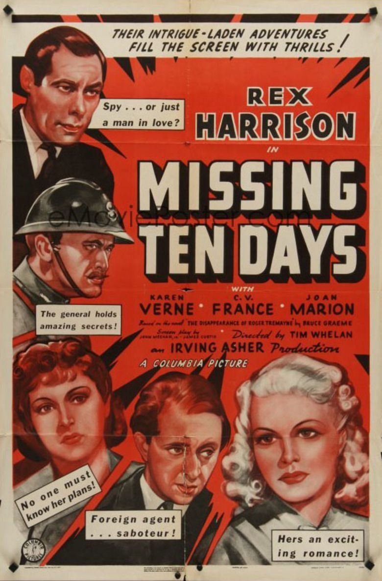 Ten Days in Paris movie poster