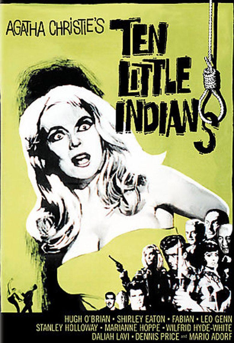Ten Little Indians (1965 film) movie poster