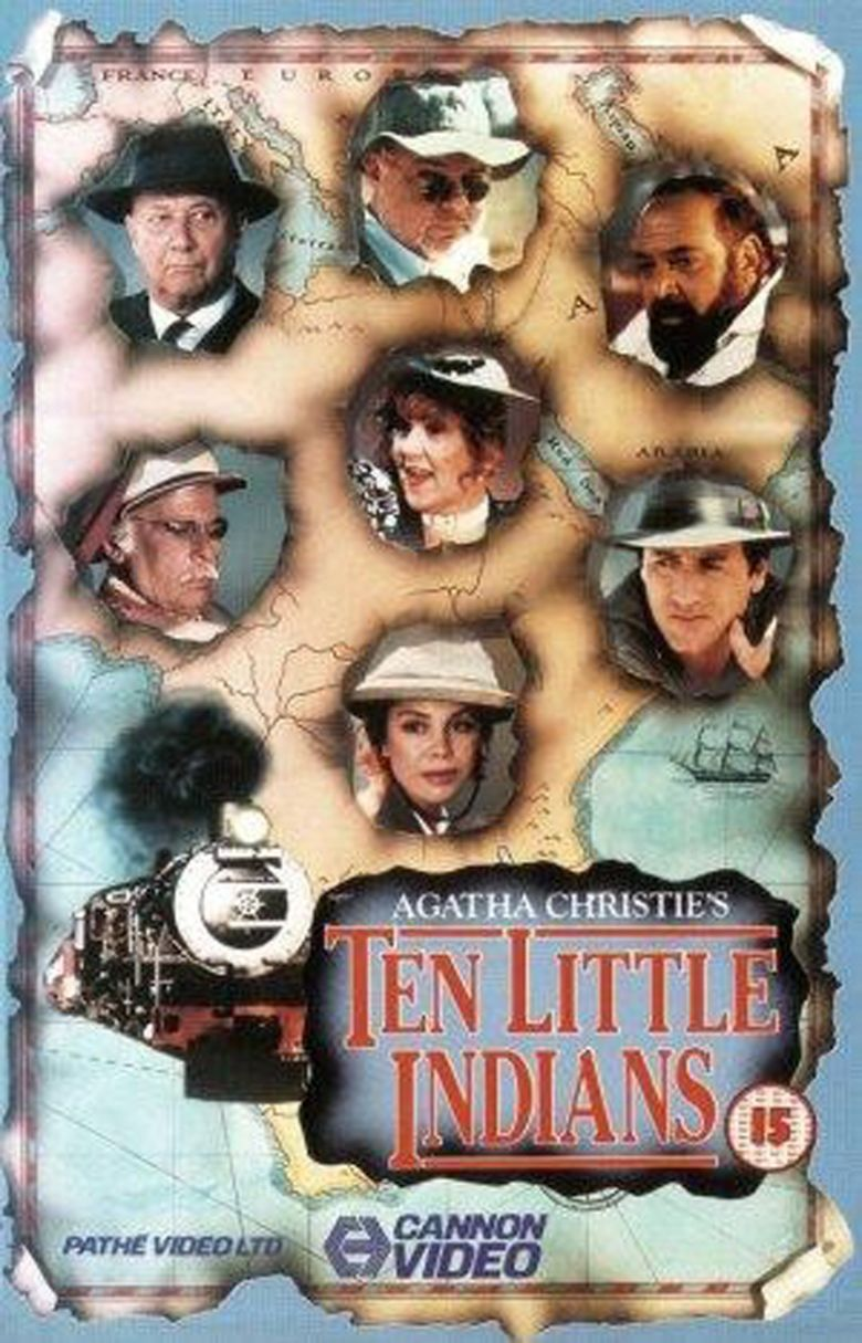 Ten Little Indians (1989 film) movie poster