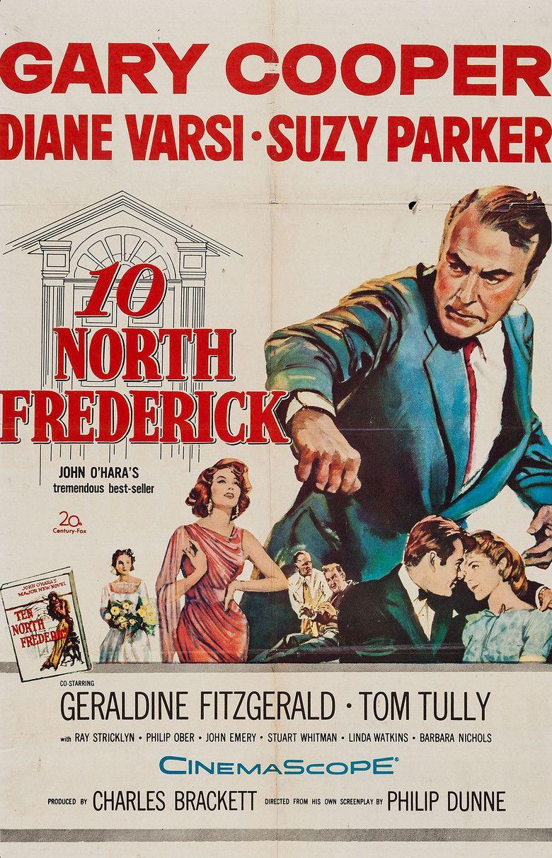 Ten North Frederick (film) movie poster