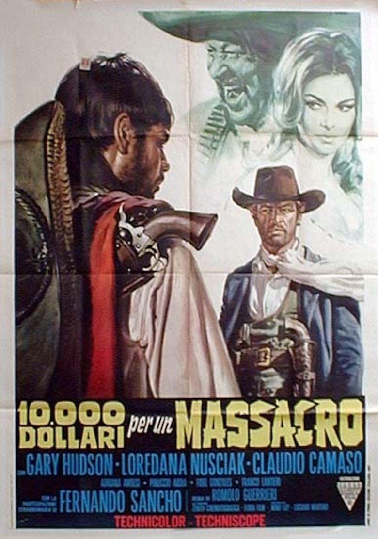 Ten Thousand Dollars for a Massacre movie poster