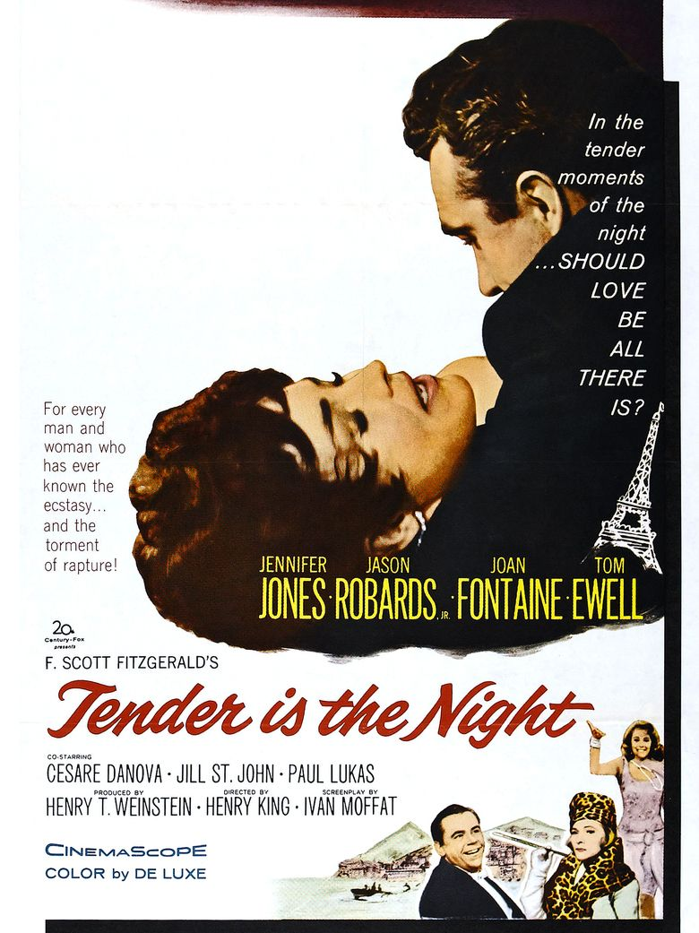 Tender Is the Night (film) movie poster