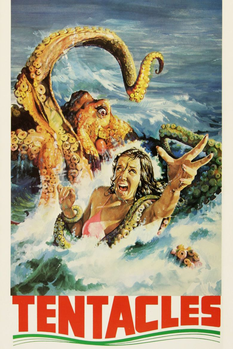 Tentacles (film) movie poster