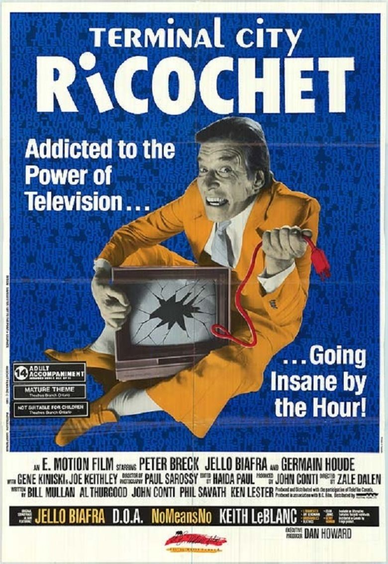 Terminal City Ricochet movie poster