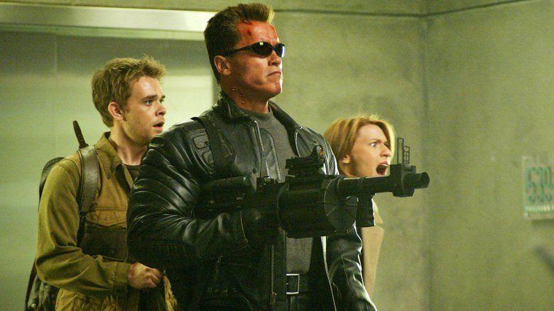 Terminator 3: Rise of the Machines movie scenes