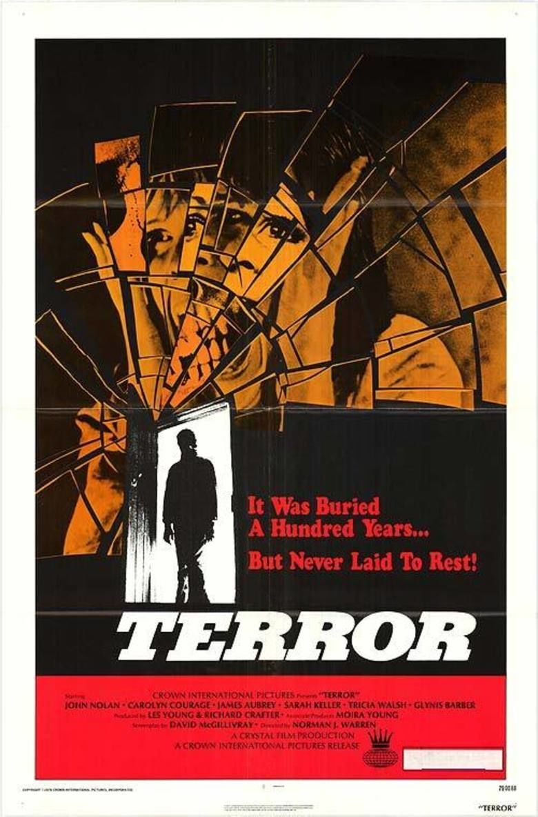 Terror (1978 film) movie poster