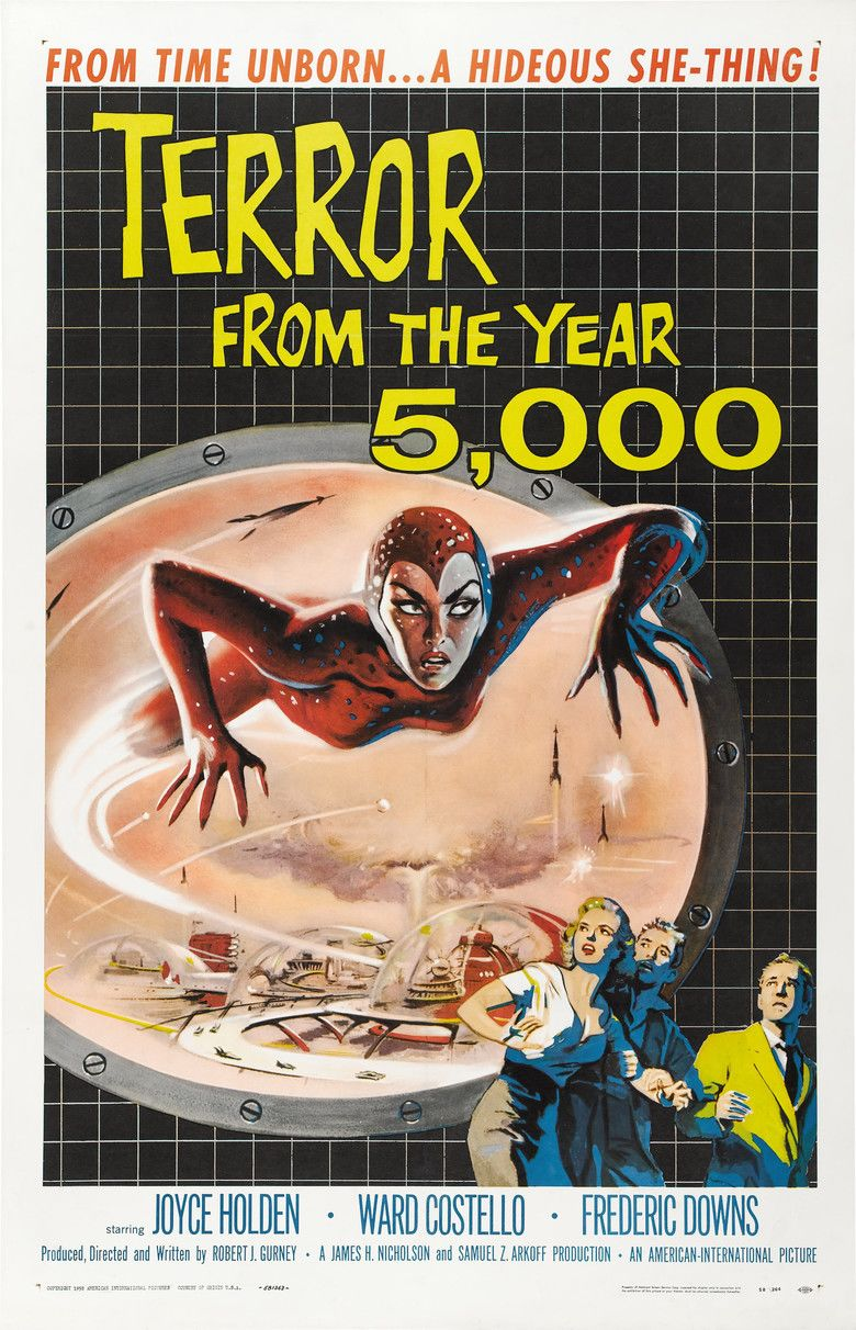 Terror from the Year 5000 movie poster