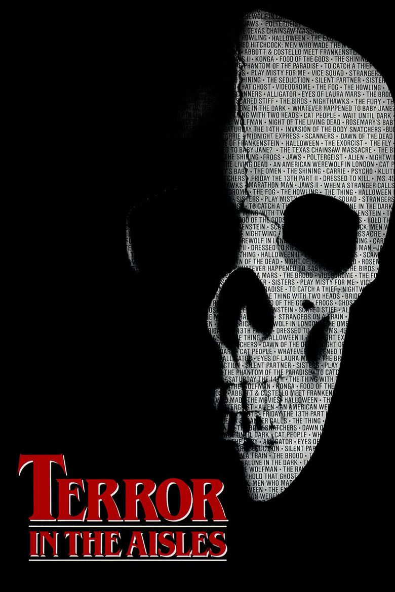 Terror in the Aisles movie poster