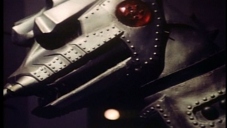 Terror of Mechagodzilla movie scenes