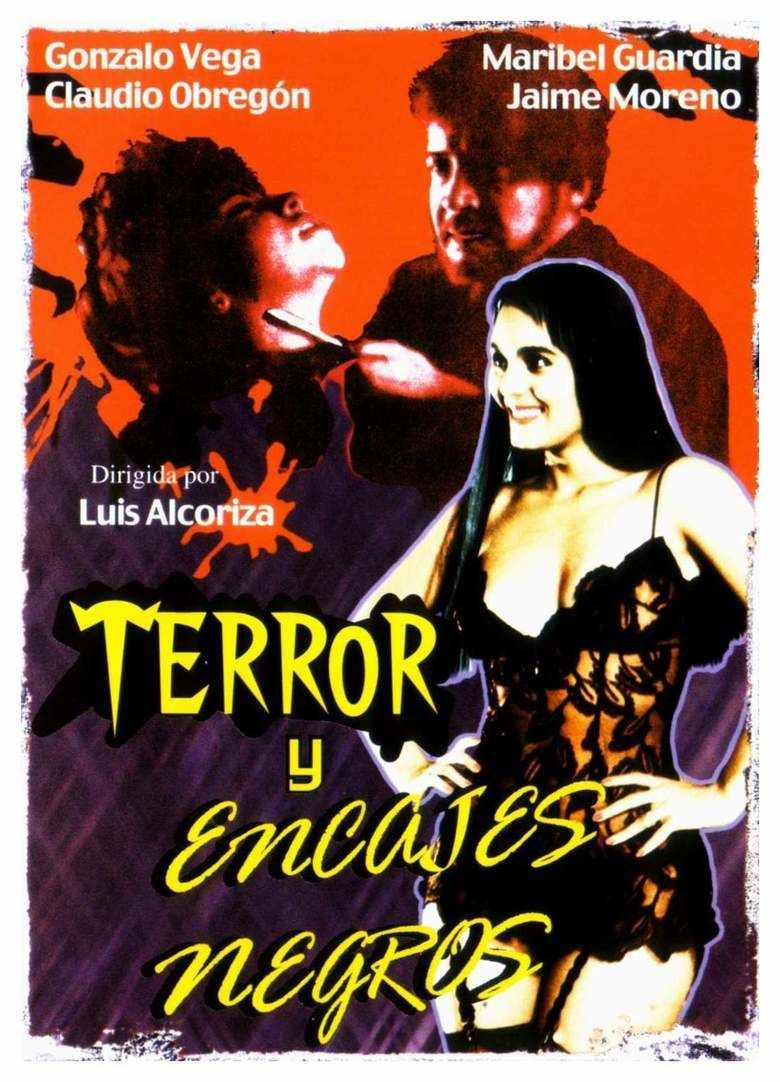 Terror y encajes negros movie poster
