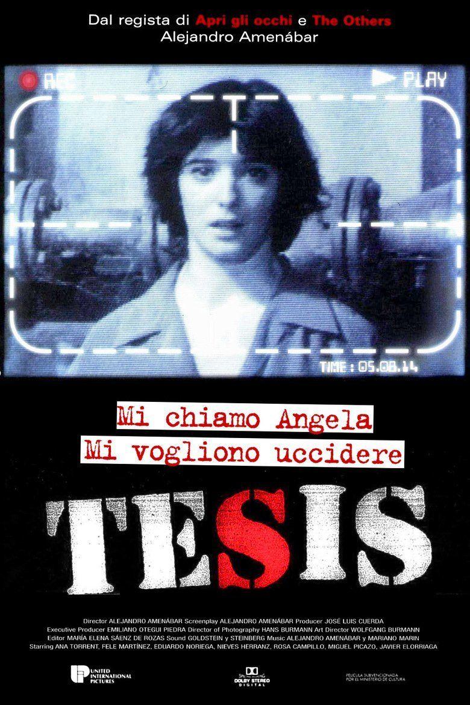 Tesis movie poster