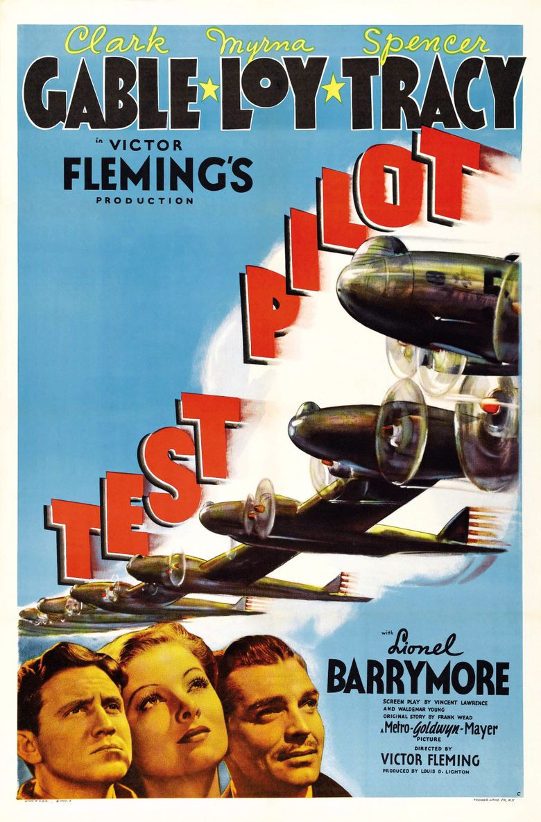 Test Pilot (film) movie poster