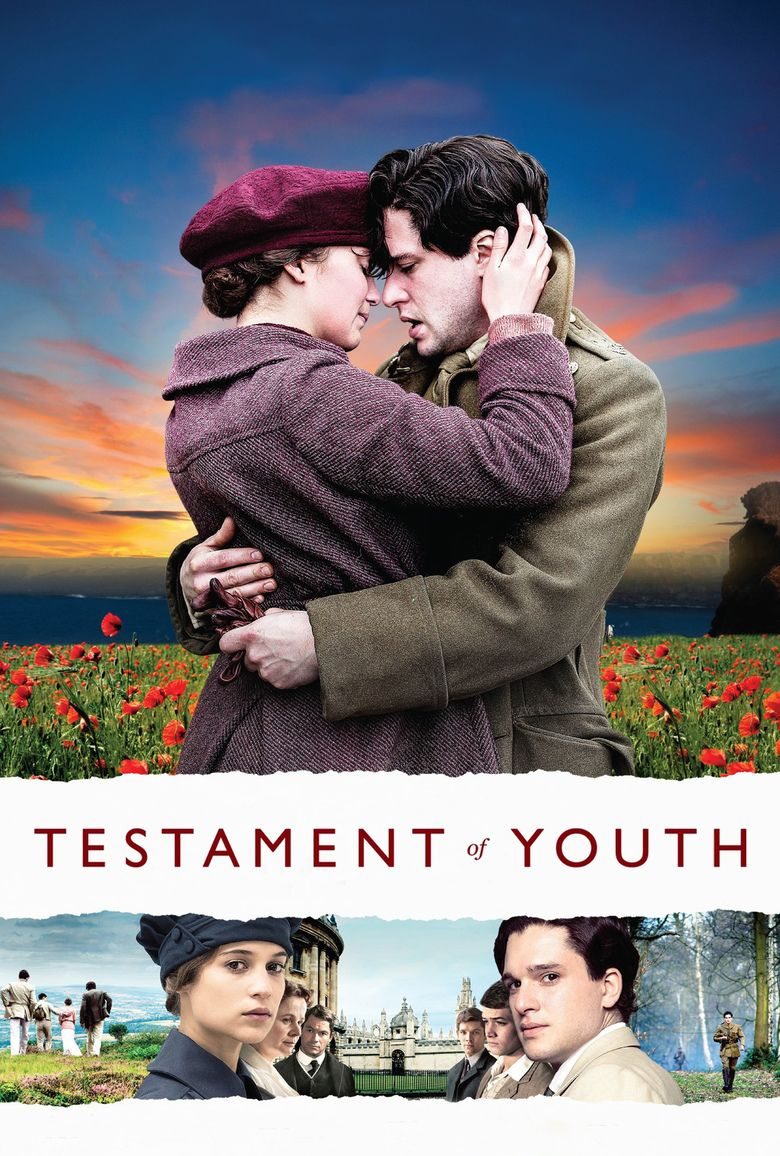 Testament of Youth (film) movie poster