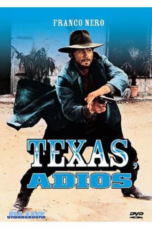 Texas, Adios movie poster