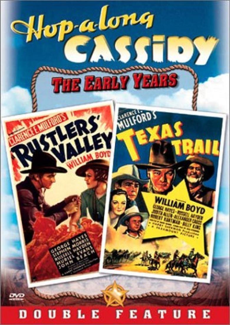 Texas Trail (1937 film) movie poster