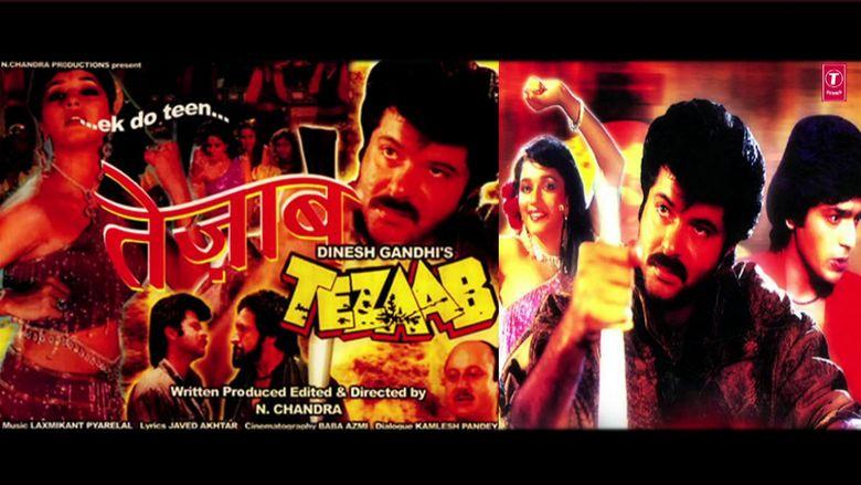 Tezaab movie scenes