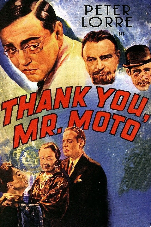 Thank You, Mr Moto (film) movie poster