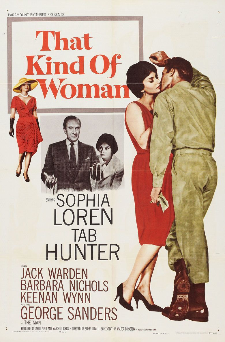 That Kind of Woman movie poster