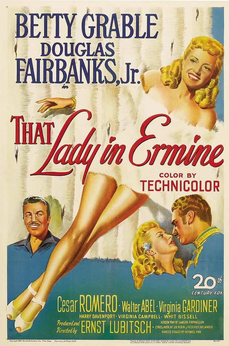 That Lady in Ermine movie poster