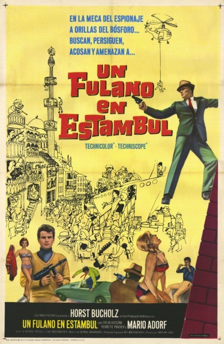 That Man in Istanbul movie poster