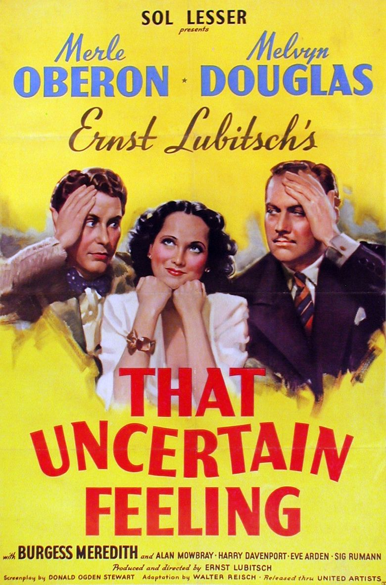 That Uncertain Feeling (film) movie poster