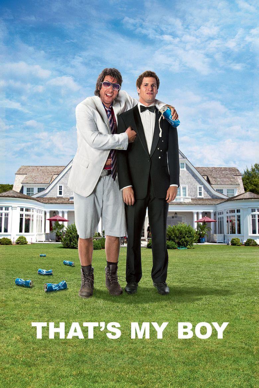 Thats My Boy (2012 film) movie poster