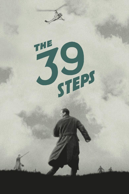 The 39 Steps (1935 film) movie poster