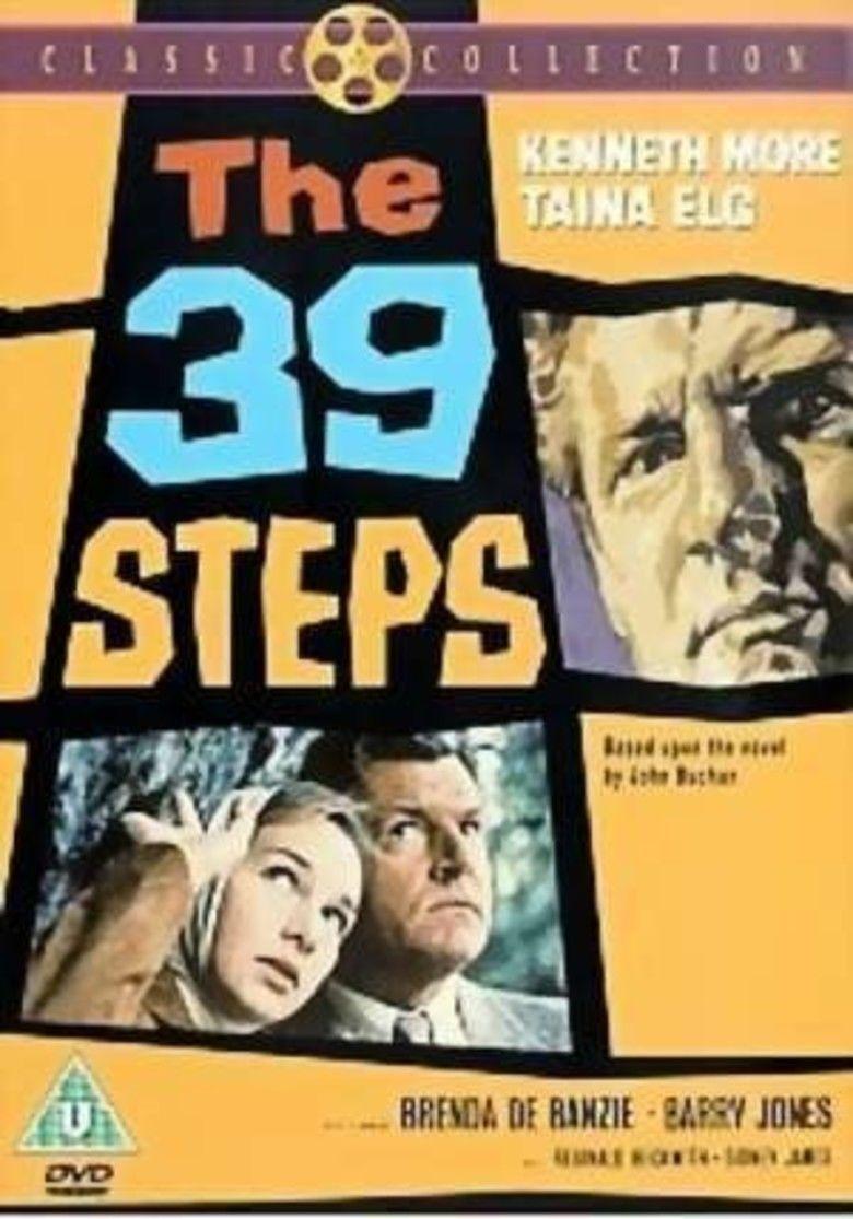 The 39 Steps (1959 film) movie poster