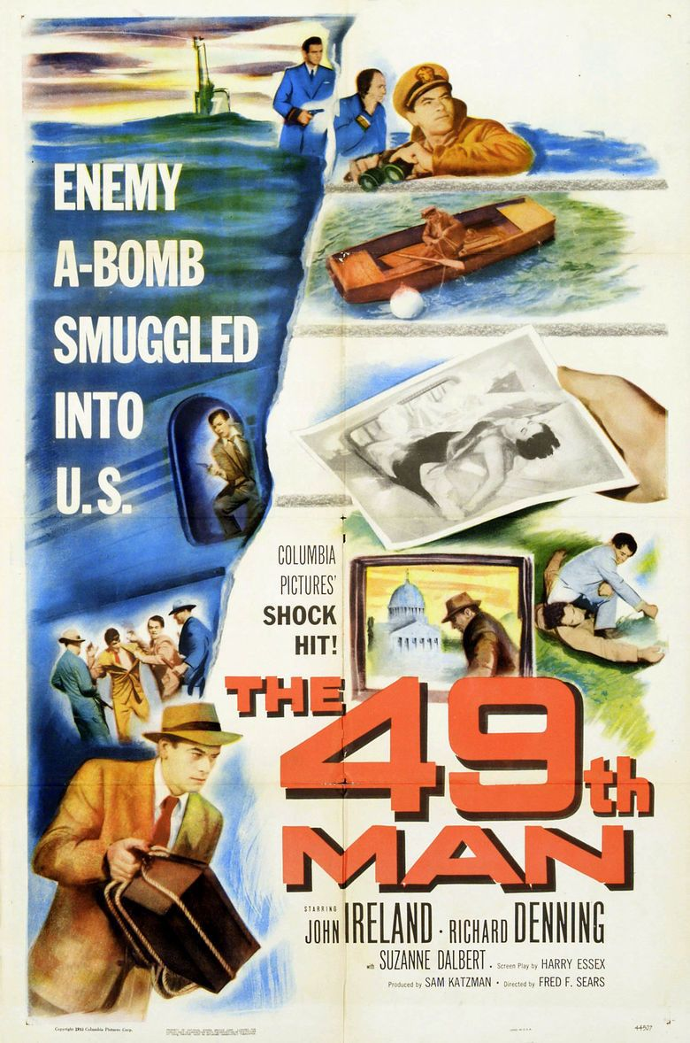 The 49th Man movie poster