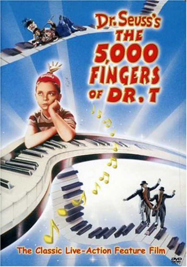 The 5,000 Fingers of Dr T movie poster
