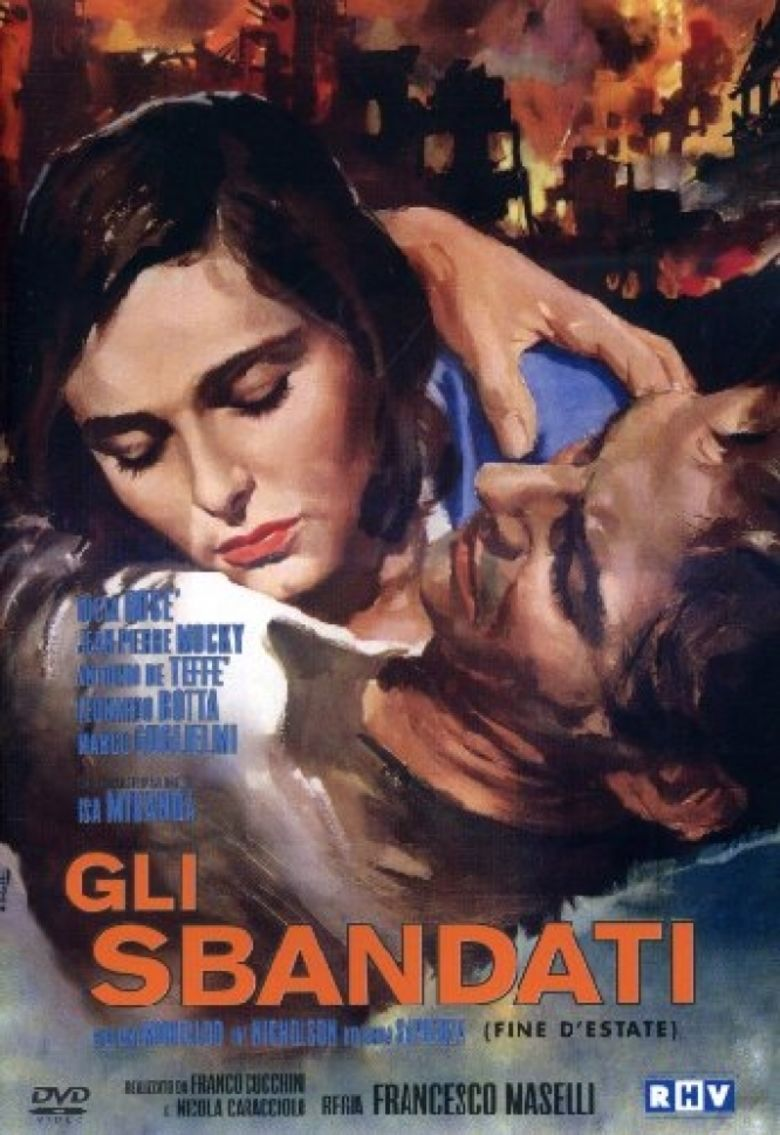 The Abandoned (1955 film) movie poster