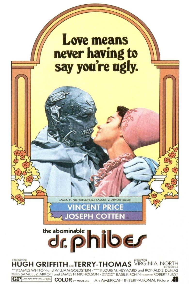 The Abominable Dr Phibes movie poster