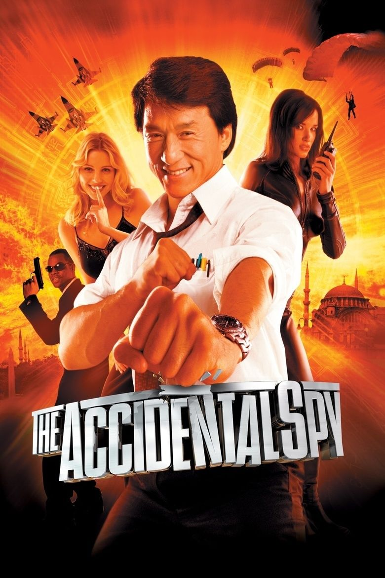 The Accidental Spy movie poster