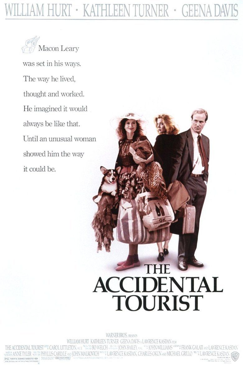 The Accidental Tourist (film) movie poster