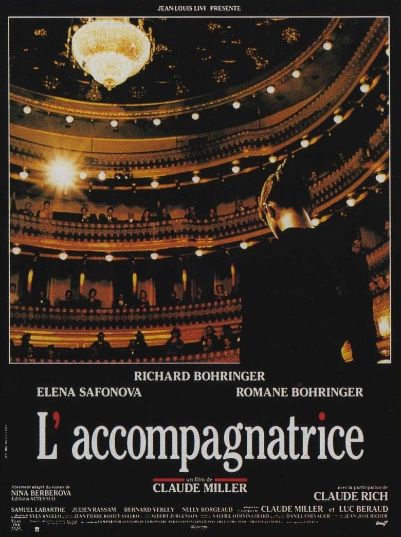 The Accompanist movie poster