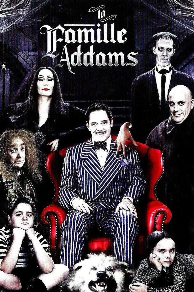 The Addams Family (film) movie poster